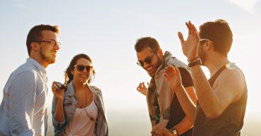 šťastní ľudia a autenticita